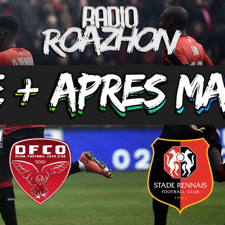 Replay Live + Après-match du 24/09 | Dijon – Rennes [3-0]